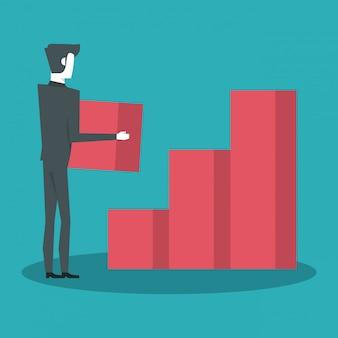 Ludzie biznesu i statystyki