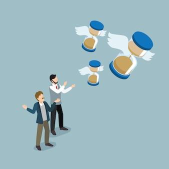 Ludzie biznesu tracą zarządzanie czasem
