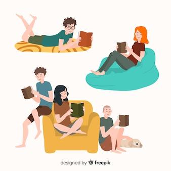 Ludzie czytający