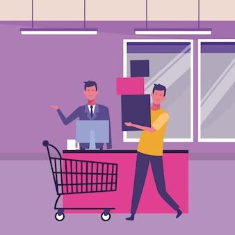 Ludzie i zakupy