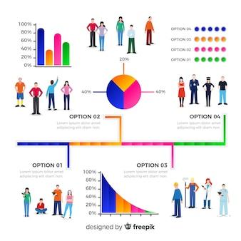 Ludzie infografika