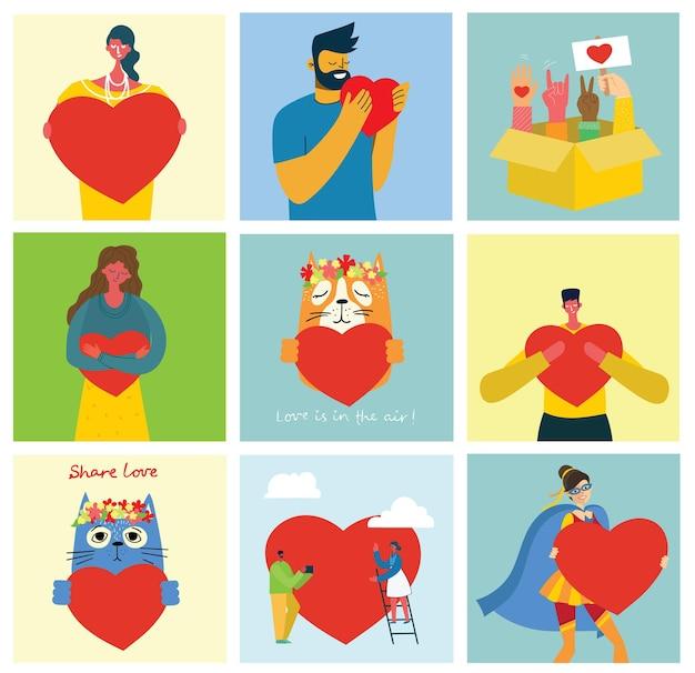 Ludzie, których serce jest jak masaże miłości.