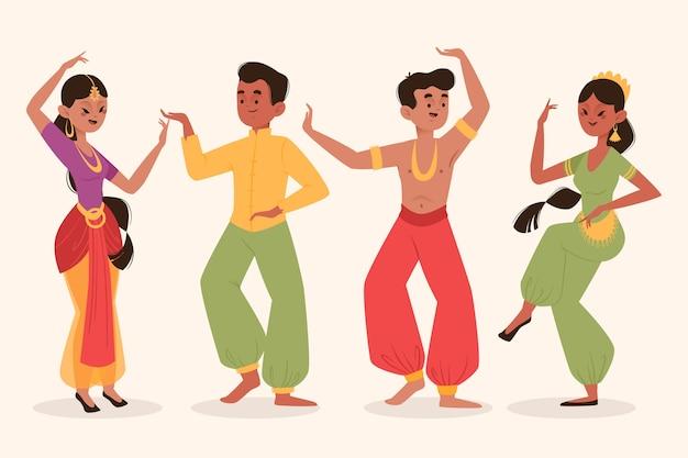 Ludzie tańczą bollywood