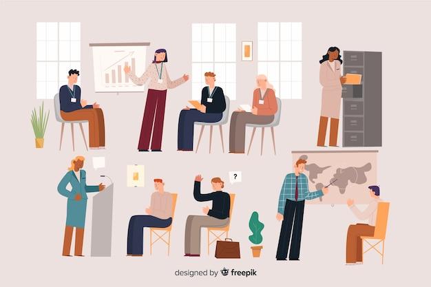 Ludzie w biurze