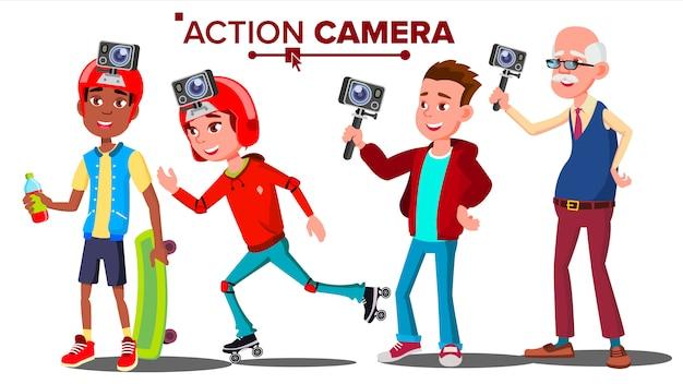 Ludzie z kamerą akcji