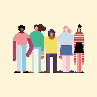 Ludzie z różnych kultur