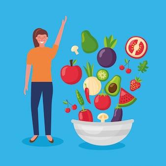 Ludzie zdrowej żywności