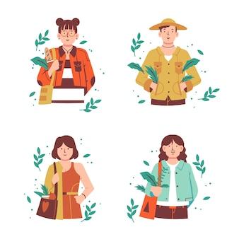 Ludzie zielonego stylu życia