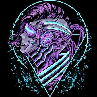 Ludzki mecha cyborg