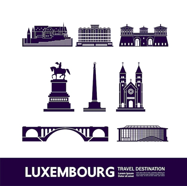 Luksemburg, cel podróży grand