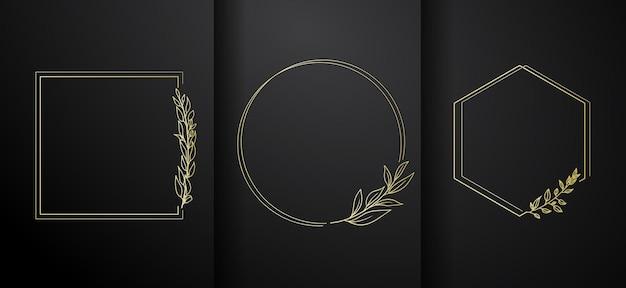 Luksusowa kolekcja ramek z logo