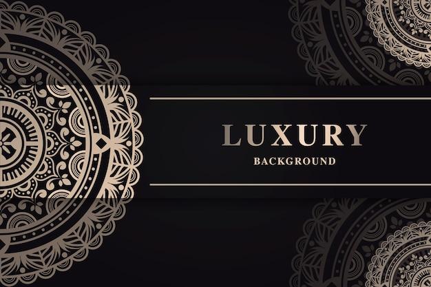 Luksusowa koncepcja tapety mandali