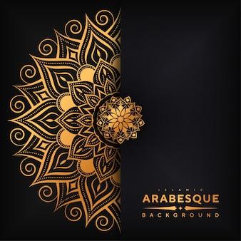 Luksusowa mandala arabeska