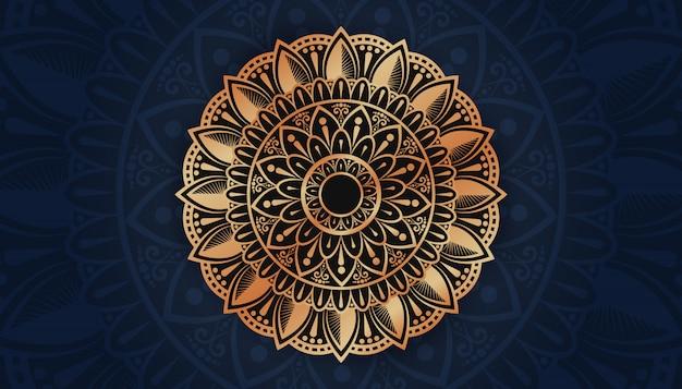 Luksusowa mandala arabeskowa