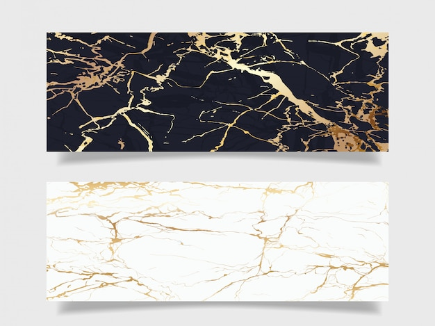 Luksusowa marmurowa tekstury tła kolekcja