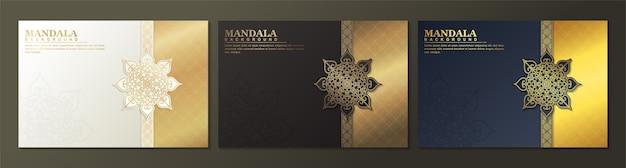 Luksusowa okładka z mandalą