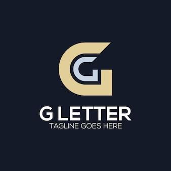 Luksusowa początkowa ilustracja logo litery g dla twojej firmy