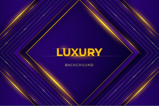 Luksusowe abstrakcyjne tło z ciemnofioletowym i złotym kolorem