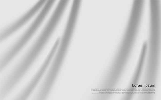 Luksusowe białe zasłony tło