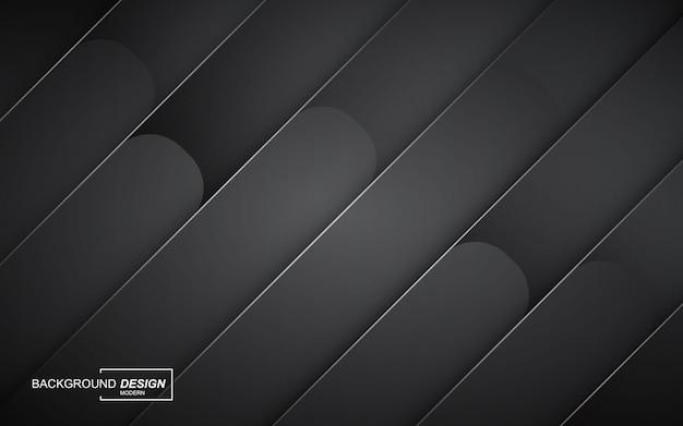 Luksusowe czarne nakładają się warstwy tła