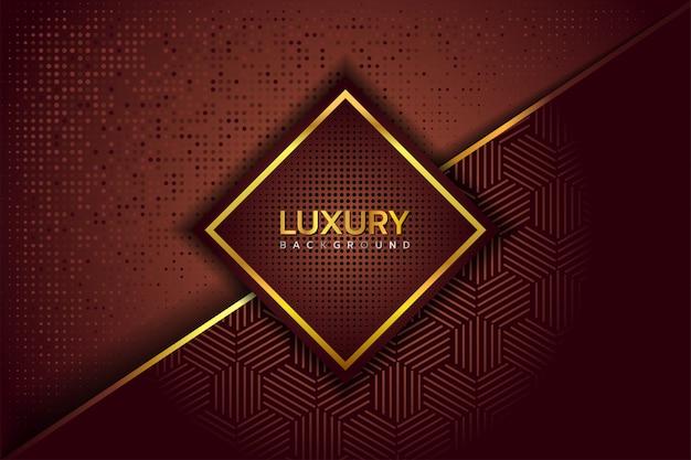 Luksusowe eleganckie złote brązowe tło
