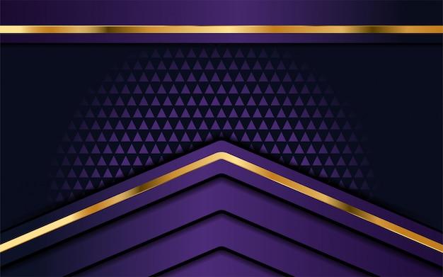 Luksusowe fioletowe tło z warstwą nakładania