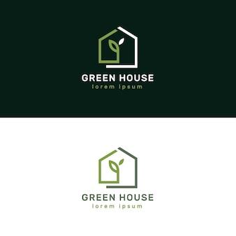 Luksusowe i eleganckie logotypy nieruchomości