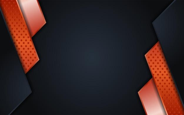 Luksusowe kombinacje ciemnego tła z linią rosegold