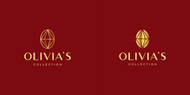 Luksusowe logo biżuterii
