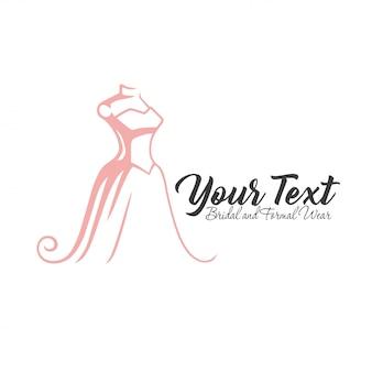 Luksusowe logo butiku