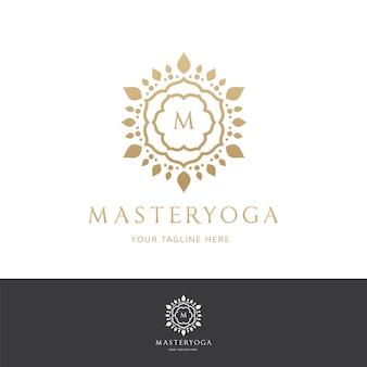 Luksusowe logo. logo crests. projekt logo hotelu, kurortu, restauracji, nieruchomości, spa, tożsamości marki mody