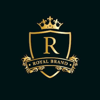 Luksusowe logo premium