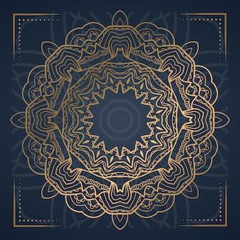 Luksusowe mandali streszczenie tło