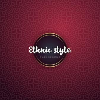 Luksusowe ozdobne mandali tło