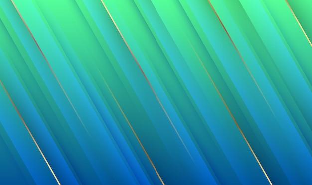 Luksusowe streszczenie tło z geometrycznym stylem, nakładają się warstwy ze złotymi paskami