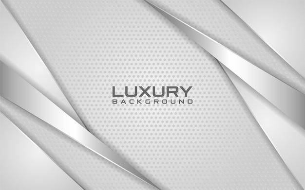 Luksusowe światło srebrne tło