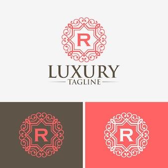 Luksusowe szablony logo