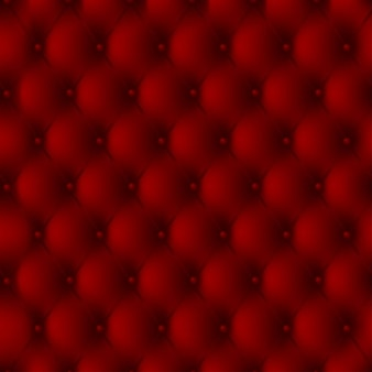 Luksusowe tła czerwoną skórzaną tapicerką z przyciskami