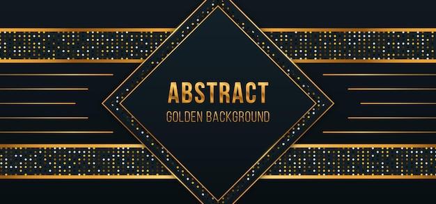 Luksusowe tło musujące koło ze złotym brokatem realistyczna tekstura z efektem świetlnym