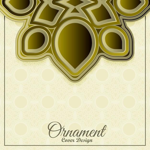 Luksusowe tło wzór ornament premium premium