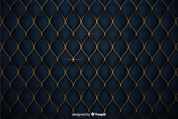 Luksusowe tło z złote kształty