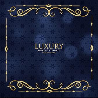 Luksusowe zaproszenie kwiatowy premium tło
