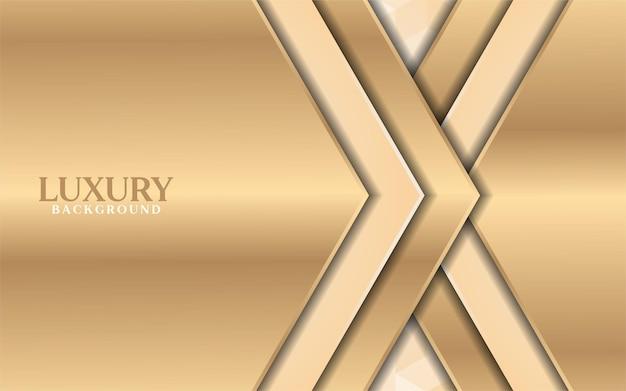 Luksusowe złote tło gradientowe