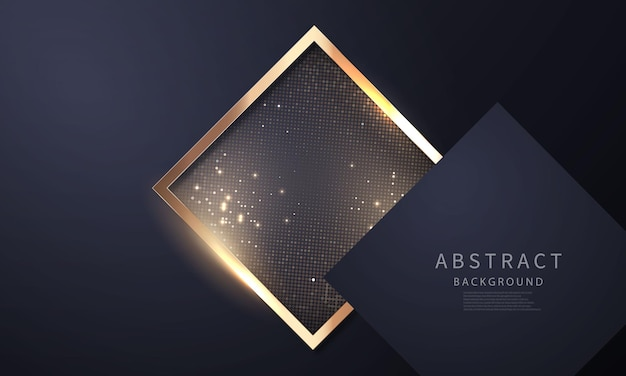 Luksusowe złoto czarne nowoczesne abstrakcyjne tło