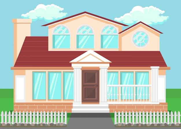 Luksusowy dom wiejski