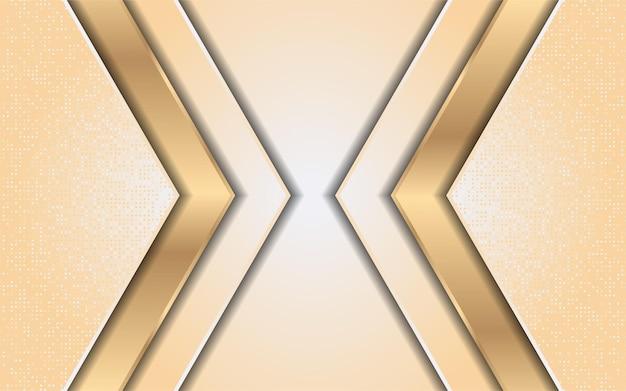 Luksusowy gradient żółty ze złotem linii