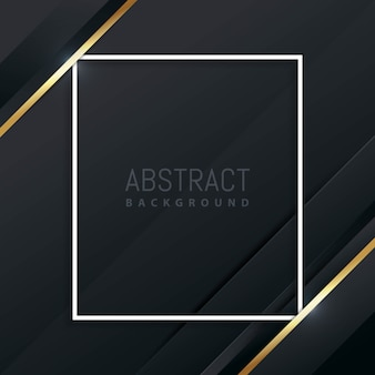 Luksusowy i elegancki abstrakcjonistyczny geometryczny tło
