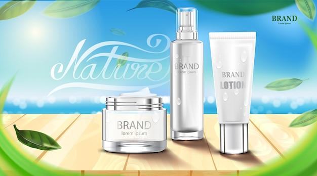 Luksusowy kosmetyk kremowy krem do pielęgnacji skóry