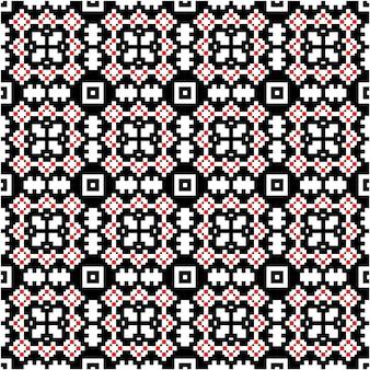 Luksusowy mozaikowy wzór z motywem w tle