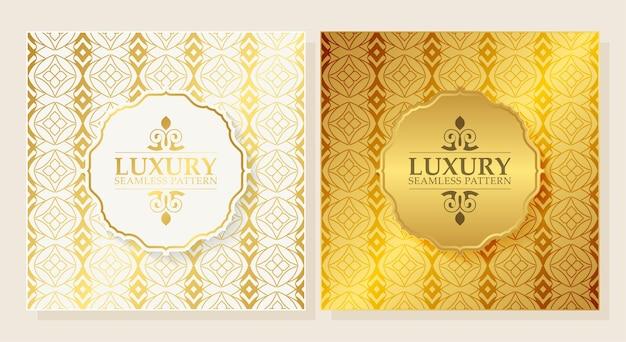 Luksusowy ornament wzór tła